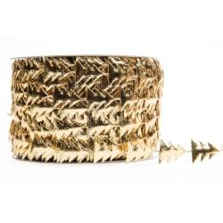 Dekorationsband Gran Guld Band 15mm x 5m Guld
