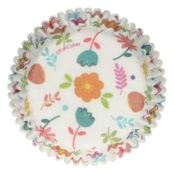 Muffinsformar Blommor 48st- Funcakes Vit