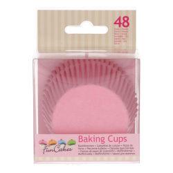 Muffinsformar Rosa 48st. Funcakes  Rosa