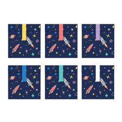 Godispåsar Rymden Cosmos - Space Party MultiColor