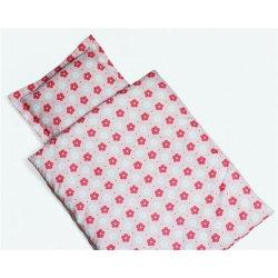 HF Quilt and pillow set- Täcke & Kudde paket till din docka Rosa