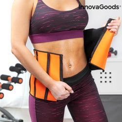 Sauna Belt- Sport Bantnings bälte InnovaGoods Slimming Sports  Svart