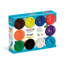 JDE Dough 10-pack 10x56g- Modellera 10 olika färger multifärg
