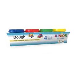 JDE Dough 4-pack 4x140g- Modellera 4 olika färger multifärg