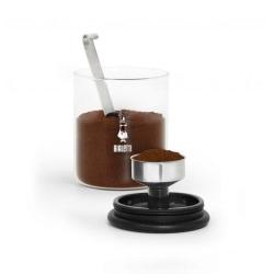 Kaffeburk med MOKA top - Bialetti® Transparent