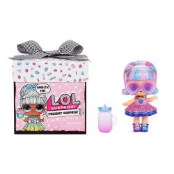 L.O.L. Surprise Present Surprise docka & 7 st tillbehör Rosa