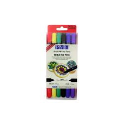 PME - Blandade Färger Livsmedelspennor 6st Bold  multifärg
