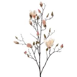 Magnolia 110cm Ljusrosa, Konstgjorda Blommor - Mr. Plant Rosa