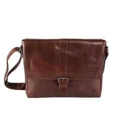Messengerbag - Baway Mörkbrun