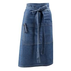 Midjeförkläde Denim Bercato Blå