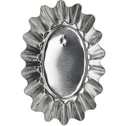 Mörmått 6 st Oval 8 cm- Gastromax  grå