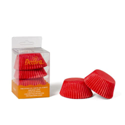 Muffins Formar Röda Jul 75st - Decora Röd