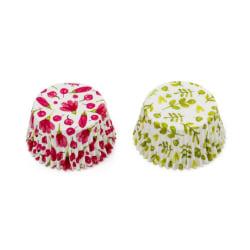 Muffinsformar Blommor 36st - Decora  multifärg