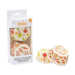 Muffinsformar Påsk 36st- Decora  multifärg