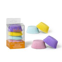 Muffinsformar Pastel Mix 75st - Decora  multifärg