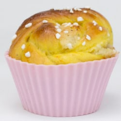 Pufz® - Stora muffinsformar i silikon 6-pack  multifärg