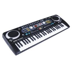 Music Keyboard 54 Tangenter- Keyboard Svart