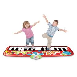 Music Pianomatta- Piano matta multifärg