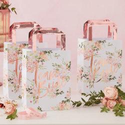 Papperspåsar Blomster - Team Bride MultiColor