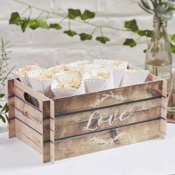 Papplåda Love - Botanical Wedding Träd