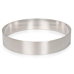 Patisse Tårtring Anslagsring Cake Ring Ø24cm Silver