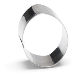 Utstickare Ägg 6cm Kakmått - Patisse Silver