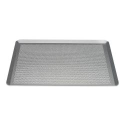 Patisse Silver-Top Baking Plate Perforated Bakplåt 40x30cm Perf grå