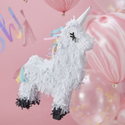 Pinata Mini Unicorn - Unicorn Party Vit