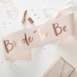 Sash Rosa - Team Bride Rosa guld