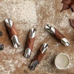 Sicilianska Cannoli Formar Rostfritt Stål 6-Pack - Decora multifärg