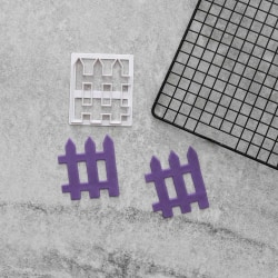 Staket Utstickare 1st   Fence multifärg