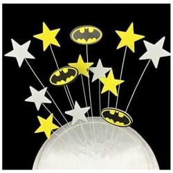 Stjärnor Caketopper Batman MultiColor