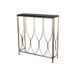 Table / Side Antique Brass / Sv 85x26,5x92cm 2pcs Koppar