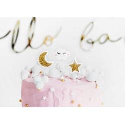 Tårtljus Mix - Little Star Vit