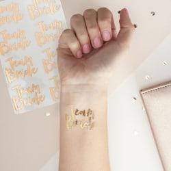 Tatueringar - Team Bride Rosa guld