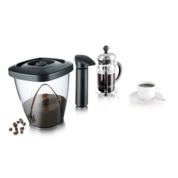 Vacuum Container for Coffee Black