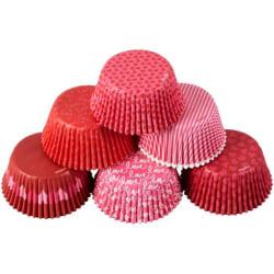 Valentine Muffinsformar Alla Hjärtans Dag 150st- Wilton multifärg