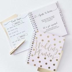 Wedding Planner - Guld Bröllop Gold