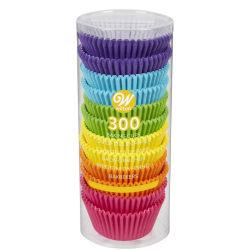 Wilton Muffinsformar Rainbow 300st