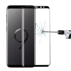 3D Skärmskydd i härdat glas till Samsung Galaxy S9 Plus - Svart