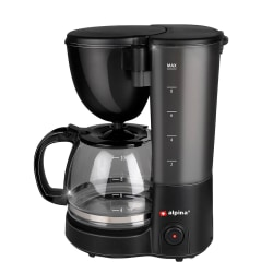 ALPINA Kaffebryggare Svart