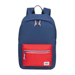 AMERICAN TOURISTER Ryggsäck UPBEAT  ZIP-Pocket NAVY/RED