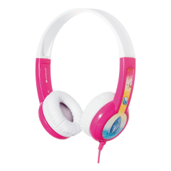 BuddyPhones Discover Kids headphone, rosa