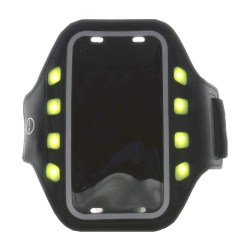 GEAR Sportarmband LED L Universal iPhone 6 Svart