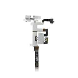 iPhone 4S Hörlursuttag, volym- och muteflexkabel - Vit
