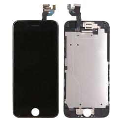 Komplett iPhone 6 Plus Skärm med delar Svart