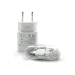 Original Huawei snabbladdare med USB-C kabel (1m) i vit färg