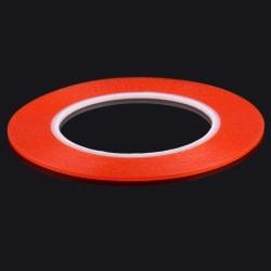 Röd Superstark dubbelhäftande tejprulle 0,2 cm