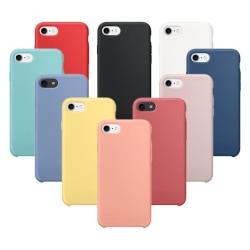 Silikonskal till iPhone 7/8 Mörkblå