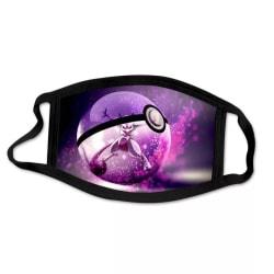 Tvättbar munskydd i Tyg - Pokémon - 3 lager (Mewtwo)